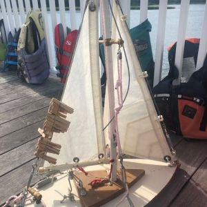 knot tying demo boat model
