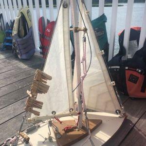 knot tying demo boat model